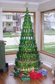 arbol de navidad de botellas